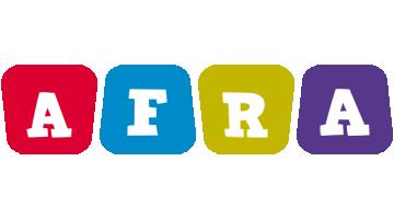 Afra daycare logo