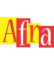 Afra errors logo