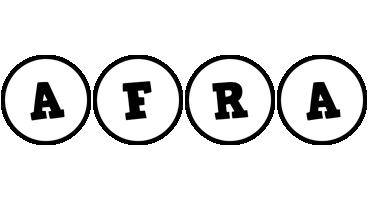 Afra handy logo