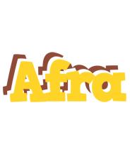 Afra hotcup logo