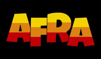 Afra jungle logo