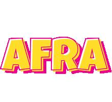 Afra kaboom logo