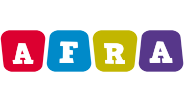 Afra kiddo logo