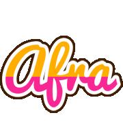 Afra smoothie logo