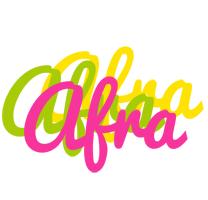 Afra sweets logo