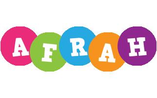 Afrah friends logo