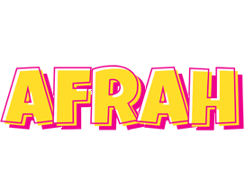 Afrah kaboom logo