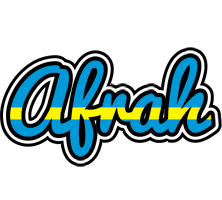 Afrah sweden logo