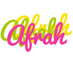 Afrah sweets logo