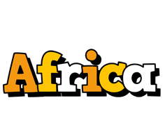 Africa cartoon logo