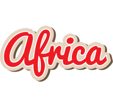 Africa chocolate logo