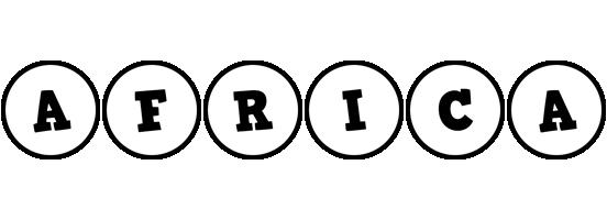 Africa handy logo