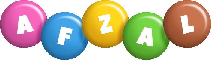Afzal candy logo