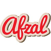 Afzal chocolate logo