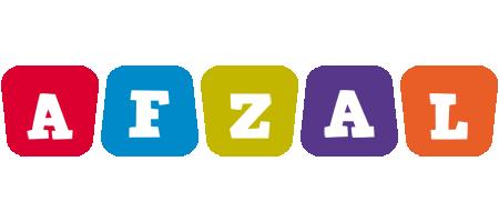 Afzal daycare logo