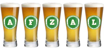 Afzal lager logo