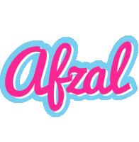 Afzal popstar logo