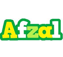 Afzal soccer logo