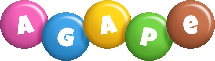 Agape candy logo