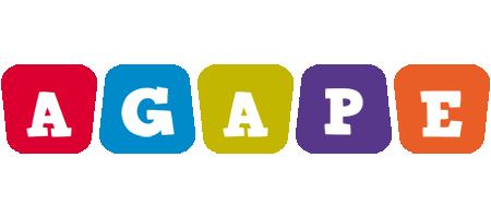 Agape daycare logo