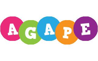 Agape friends logo