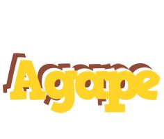 Agape hotcup logo