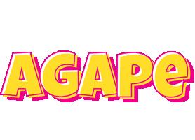 Agape kaboom logo