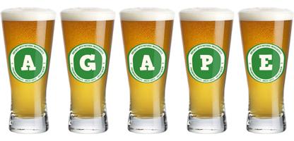 Agape lager logo