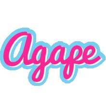 Agape popstar logo