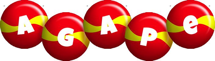 Agape spain logo