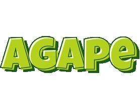 Agape summer logo