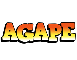 Agape sunset logo