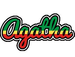 Agatha african logo