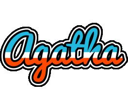 Agatha america logo