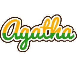 Agatha banana logo