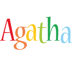 Agatha birthday logo