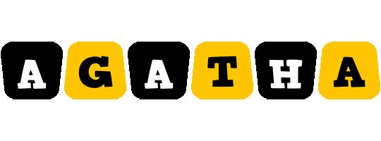 Agatha boots logo