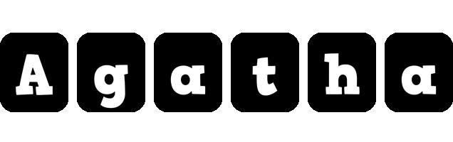 Agatha box logo