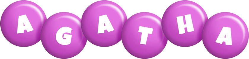 Agatha candy-purple logo
