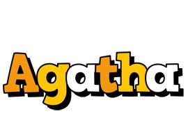 Agatha cartoon logo