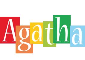 Agatha colors logo