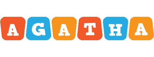 Agatha comics logo