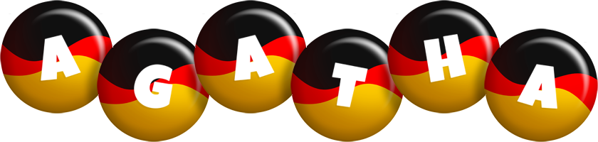 Agatha german logo