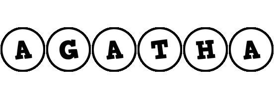 Agatha handy logo