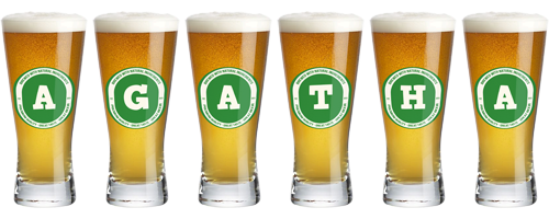 Agatha lager logo