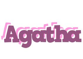 Agatha relaxing logo