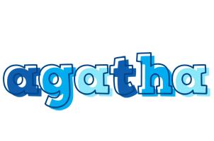 Agatha sailor logo