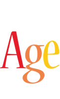 Age birthday logo