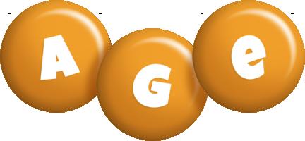Age candy-orange logo