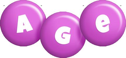 Age candy-purple logo